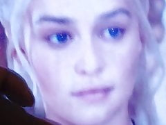 Queen Of Dragons Ebony Cumtribute For Emilia Clarke