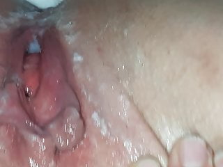 Amateur french creampie...