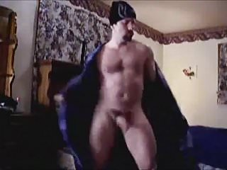 Dancing daddy jerk off amp cum...