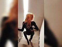 Blonde Cougar Hooker Various Dancing 3 Hot