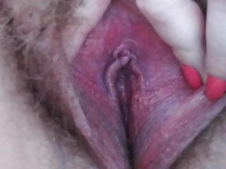 and rub piss BBW pussy