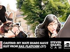 Kevin fucks Doreen's pussy on the table! StevenShame.dating
