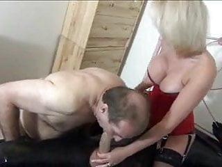 Beautiful blonde milf cock...