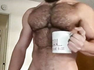 Amaizing strong hairy cock...