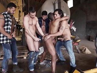 Garage Gangbang
