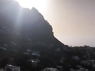 Nicole Scherzinger selfie in Capri, Italy