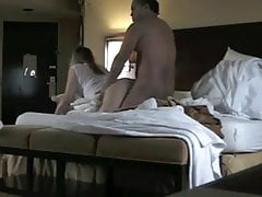 The maid caught 2