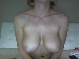 My blond friend masturbating to me...