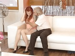 Daddy4k. Mature Parent Of Beau Tastes Teenager Cunny Of Vaness