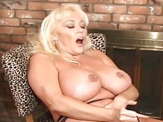 mature busty blonde