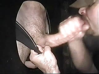 Studly cocksucker gets a facial from...