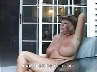 Granny And Her Neighbor Get It On