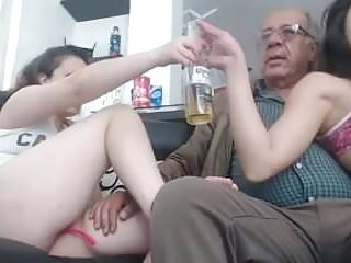 Soon 2 girl a men of 75 year...