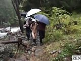 JAV CMNF outdoor nudity nature trek Yuu Kawakami Subtitled