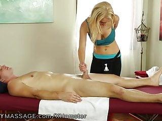 Fantasy massage is a vixen...