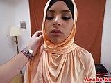 Arabian amateur fucks and sucks for cash
