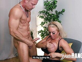 BRITISH! She cums a lot during a HARD FUCK! DATERANGER.com