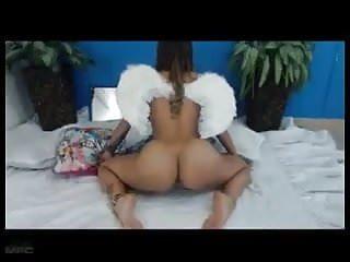 Angel teasing then orgasm...