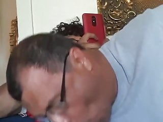Old needs a young cock in his mouth