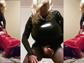 Huge latex the mega tits fuck...