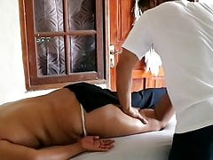 Big Ass Mom Take a Massage from Husband - So Sexy Big Ass