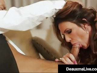 Dick Drilling Cougar Deauxma Fucks Hung Brit Keni Styles!