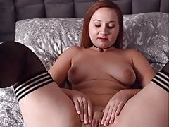 Polish piggy wife spreads legs