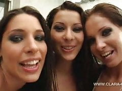 Zafira with Lauryn May and Cindy Hope – Hungarian Lesbo