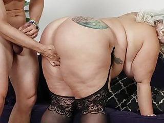 Ass bbw pornstar getting big euro cock...