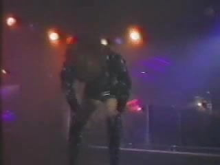 Stripping on stage