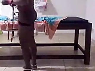 A Strickt Sri Lankan Mistress Punishing a male