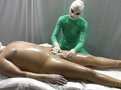 Latex Danielle - The doctor examines the patient