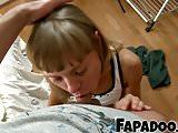Distracted Sexy Girl Sensual Blowjob!