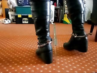 spurs a kinky action boots and just