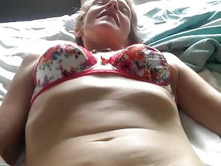 Milf hairy pussy being fingered...