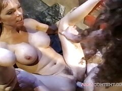 A blonde girl with big tits loves a quick fuck