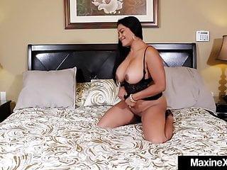 12  Big Black Cock Goes Balls Deep In Asian Milf Maxine X!