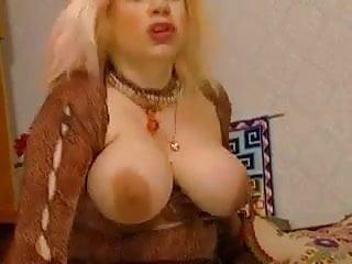 Slutty granny zhanna in stockings rewards voyeur fuck...