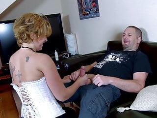 Terry treibt ein wenig Sport auf Andrea Diangelis