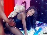 Boy fucks black teen shemale Online