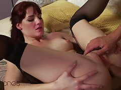 Dane Jones, Gorgeous Czech Redhead Elena Vega gets romantic anal sex