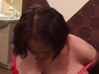 Granny stripping...