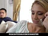 PunishTeens - Bored Blonde GF wants a Hardcore Pounding