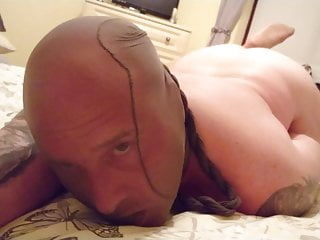 Nude nylon...