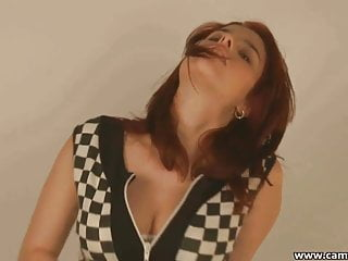 Taking my skirt off before sensual masturbation...