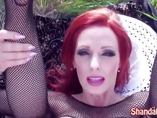 Canadian MILF Shanda Fay Finds A Pretty Place To Fuck!!