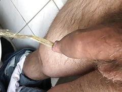 Hairy pee piss
