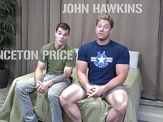 Princeton Price and John Hawkins suck n fuck