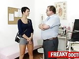 Czech hottie Nicoletta Emilia big natural tits check-up