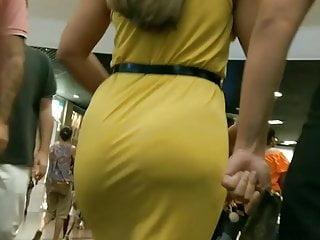 Big Ass Milf Sexy video: best candid big ass curvy hot booty walk sexy dress